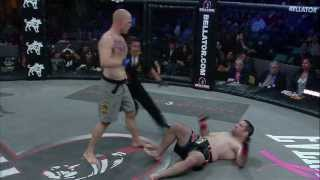 Bellator MMA Highlights: Alexander Shlemenko Finishes Brian Rogers