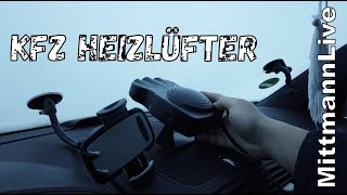 KFZ Heizlüfter für die Windschutzscheibe zum ENTEISEN / KFZ GADGETS MIT MittmannLive