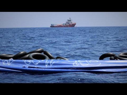 Τρίτη διάσωση από το Ocen Viking στη Μεσόγειο