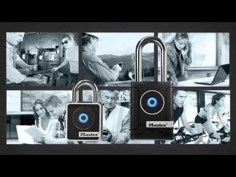 Screen capture of Master Lock Smart™ Padlocks