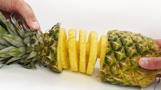Pineapple Spiral -  Food Hack with Slicer Kitchen Gadget - Video Youtube