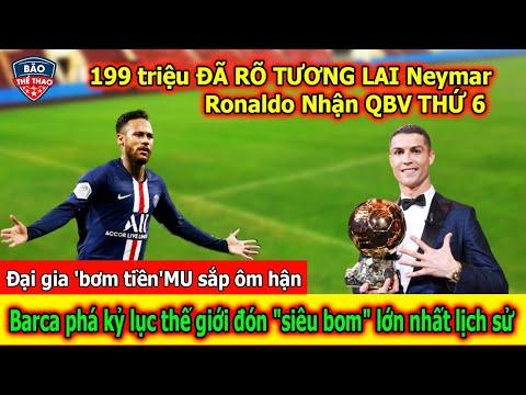 🔥Tin Bóng Đá 29/10: Ronaldo Chuẩn Bị Đón Quả Bóng Vàng Thứ 6   199 triệu, Barca phá kỷ lục thế giới