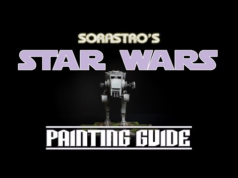 Sorastro's Star Wars Imperial Assault Painting Guide Ep.6: AT-ST