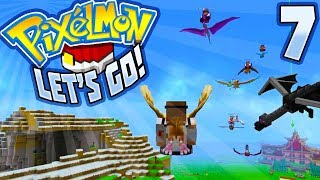 Pixelmon: Let's Go! - EP07 - A New Dimension! (Full Adventure) | (Minecraft SMP) #PixelmonLetsGo