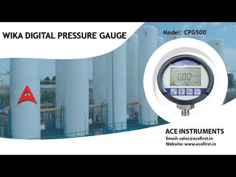 WIKA CPG 500 Digital Pressure Gauge