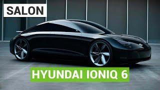 Hyundai Prophecy : la future Ioniq 6 au salon de Munich 2021