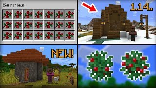 NEW Features Added In Minecraft 1.14 Update