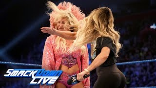 Trish Stratus slaps Charlotte Flair: SmackDown LIVE, Aug. 6, 2019