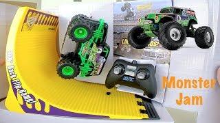 Carrinho De Controle Remoto Monster Jam Grave Digger - Brinquedos