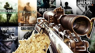 The Evolution Of The BARRETT 50 Cal In Every Call Of Duty