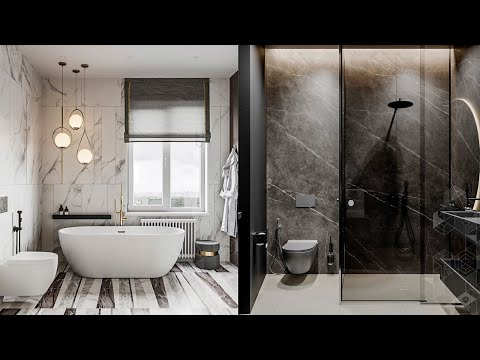 TOP 5 Bathroom Interior Design Ideas. Bathroom Design Trends 2021
