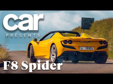 Ferrari F8 Spider (2021) video review: it's a scorcher!