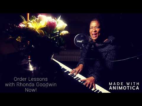 """Piano Instructor Rhonda Goodwin sampling """"Silent Night.""""  You don't want to miss This!!  Enjoy.."""