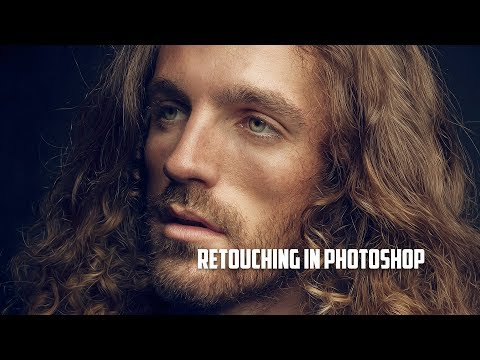photo retouching tutorial with painterly effect in portrait by vladimir chopine
