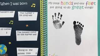 Beautiful Baby Memory Book