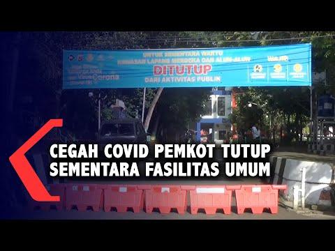 cegah covid pemkot tutup sementara fasilitas umum