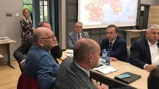 Wideo1: Dyskusja w sprawie ASF w Krobi
