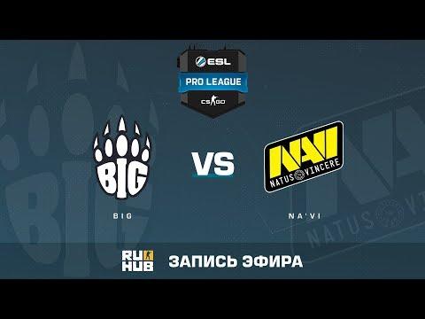 BIG vs Na'Vi - ESL Pro League S6 EU - de_train [ceh9, MintGod] (видео)