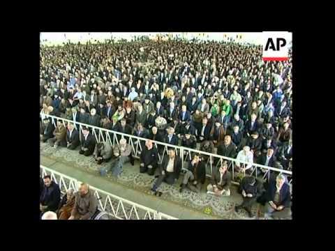 Iraqi pres Talabani meets Ahmadinejad; Rafsanjani at Friday prayers