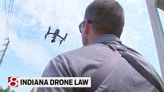 Indiana drone law