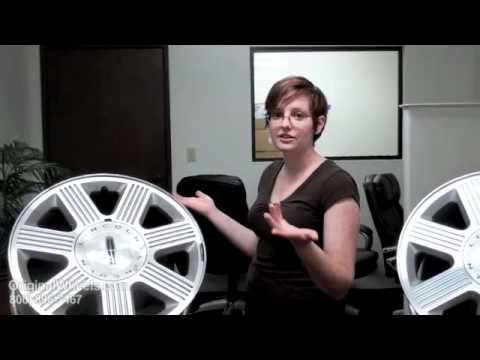 Zephyr Rims & Zephyr Wheels - Video of Lincoln Factory, Original, OEM, stock used rim