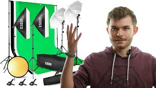 Professionelle Videos mit dem Fotostudio Set von Esddi aufnehmen (Amazon) REVIEW