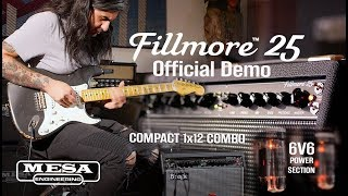 Mesa Boogie Fillmore 25 Head Video