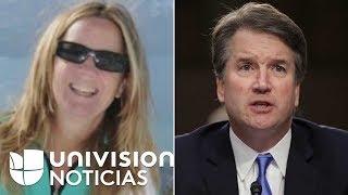 La mujer que acusa a Kavanaugh de agresión sexual fija sus condiciones para testificar en el Senado