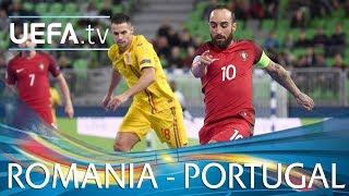 Futsal EURO highlights: Portugal v Romania