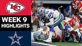 Chiefs Vs. Cowboys   NFL Week 9 Game Highlights