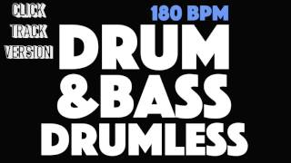 Drum & Bass Drumless Backing Track With A Click Track (Metronome)