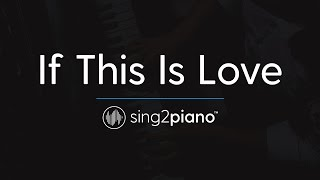 If This Is Love [Piano Karaoke Instrumental] Ruth B.