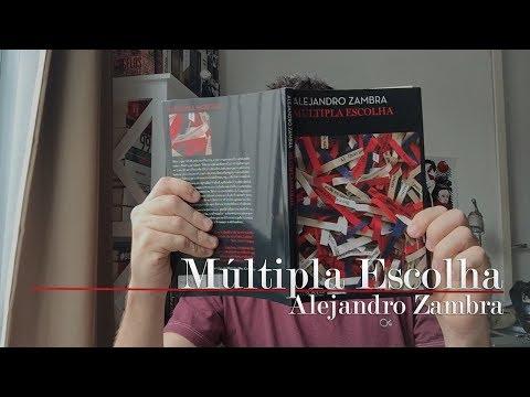 Múltipla Escolha, do Alejandro Zambra | Christian Assunção