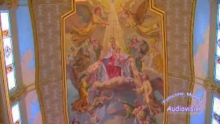 preview picture of video 'La Madonna del Tindari - Interno del Nuovo Santuario'