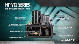 HT-VCL Series High-Temp Condensate Pumps