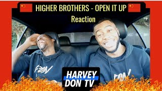 HIGHER BROTHERS - OPEN IT UP Reaction HarveyDonTV @Raymanbeats