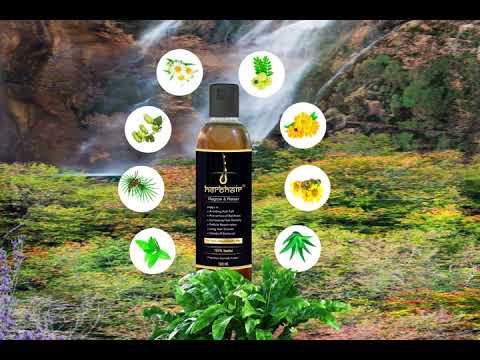 HerbHair Pure Herbal Regrow & Retain Hair Oil