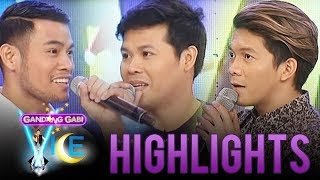 "Jovit, Bugoy, and Marcelito in ""12 Days of Christmas"" lyric game 