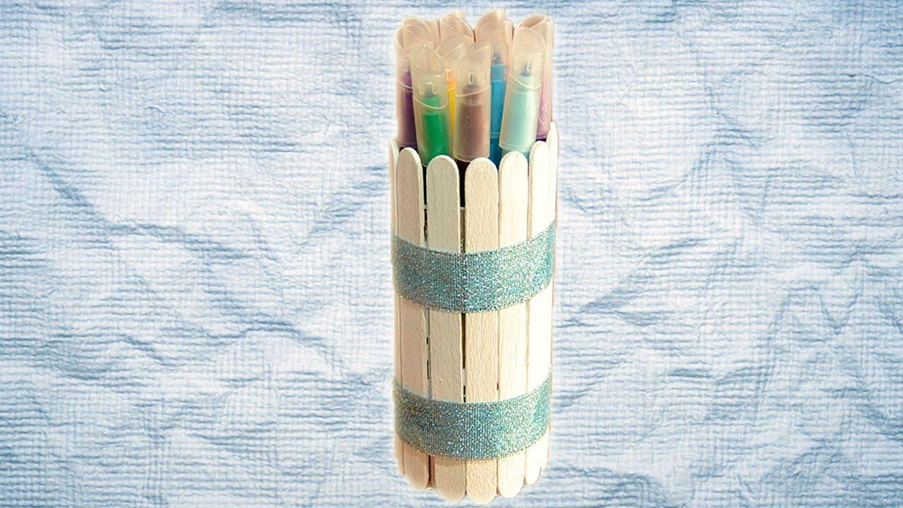 Bote de lápices. Manualidad de reciclaje