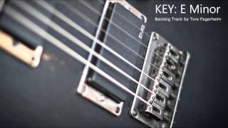 E Minor - Heavy Rock / Metal Guitar Backing Track