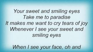 Aaron Neville - Your Sweet And Smiling Eyes Lyrics