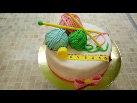 Как сделать торт для вязальницы