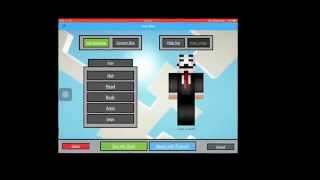 Minecraft skin creator for PE and PC (IOS APP)
