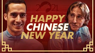 ? Happy year of the ox!   Chinese New Year x Real Madrid