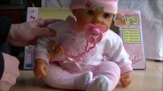 Rock a bye * Chou Chou Puppe für Kinder * von Zapf Creation * 2001 * Review