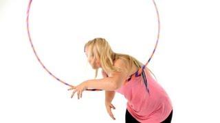 How To Do Hula Hoop Vertical Back Roll | Hula Hooping