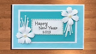 1237 how to make new year card new year pop up card handmade