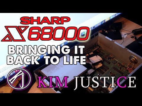 Bringing the Sharp X68000 Back to Life - King of the 16-Bit Computers? - Kim Justice