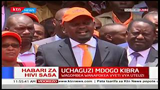 Bernard Okoth, brother to Ken Okoth receives nomination papers to run for Kibra seat on ODM ticket