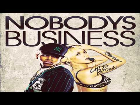 Rihanna Ft. Chris Brown - Nobody's Business (Instrumental)